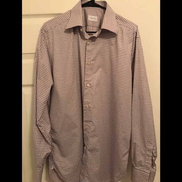 9a6f33b5 Ermenevildo Zegna Men's Dress Shirt